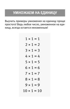 Таблица умножения. Простая система запоминания