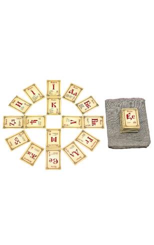 Знакомство с буквицей (Комплект, 82 предмета)