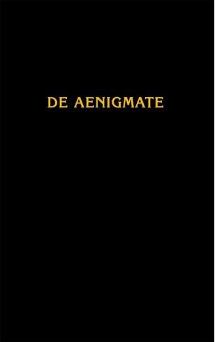 О тайне / De Aenigmate