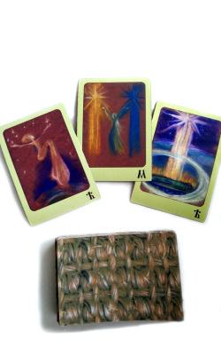 Буквица. Авторская колода из 49 карт
